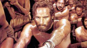 Ben Hur als Sklave