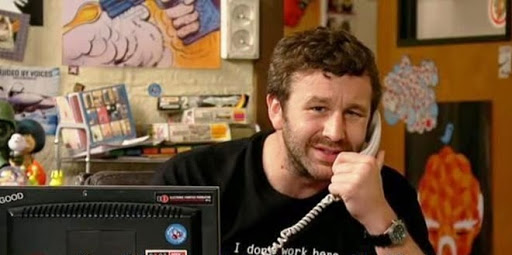 Chris O'Dowd in IT Crowd