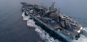 Schiff in Pacific Rim
