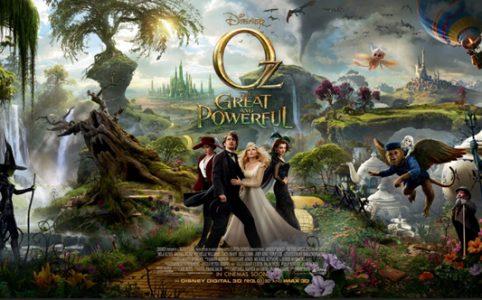 Fantastische Welt von Oz Poster