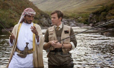 Ewan McGregor in Lachsfischen im Jemen