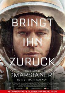 Der Marsianer Poster