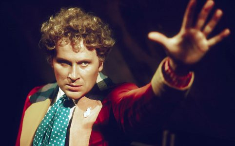 Colin Baker als Doctor in Doctor Who