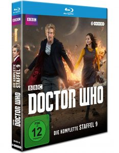 Doctor Who Staffel 9 Cover