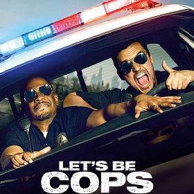 Lets Be Cops Poster