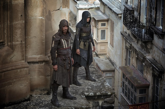 Assassins Creed mit Michael Fassbender
