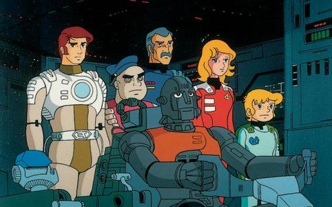 Captain Future Szene