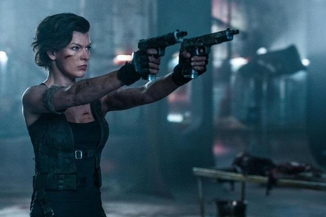 Mila Jovovich in Resident Evil 6