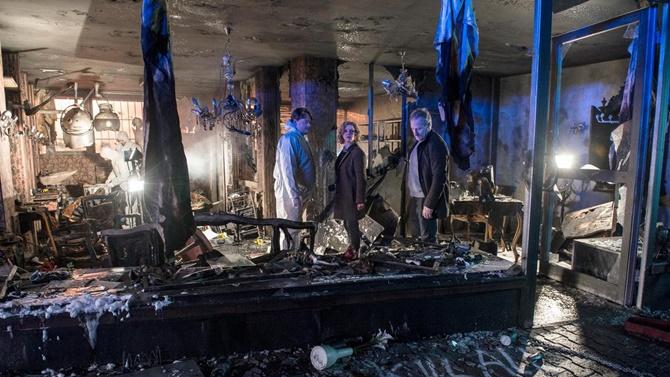 Tatort ausgebranntes Zimmer