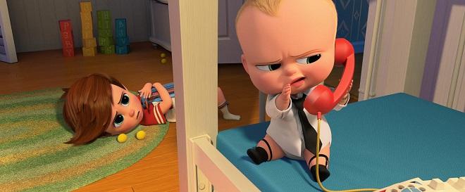 Alec Baldwin spricht das Boss Baby