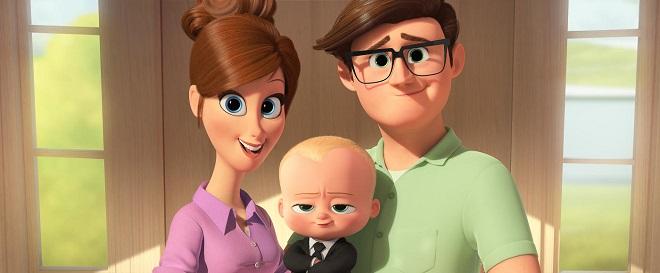 Familie von Boss Baby