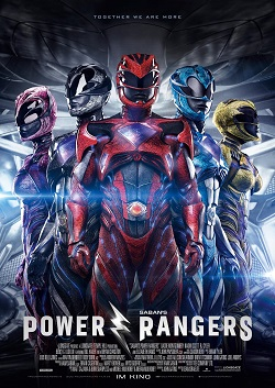 Power Rangers Plakat