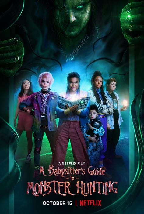 Plakat zu A Babysitters Guide to Monster Hunting