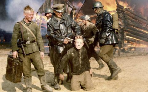 Deutsche Soldaten haben Fljora in ihrer Gewalt